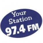 Logo da emissora Radio Stereo 97.4 FM