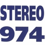 Logo da emissora Radio Stereo 974 FM