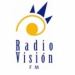 Logo da emissora Radio Vision 107.7 FM