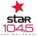 Logo da emissora Radio Star 104.5 FM