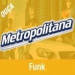Logo da emissora Rádio Metropolitana SP FM Funk