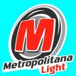 Logo da emissora Rádio Metropolitana SP FM Light