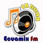 Logo da emissora Radio Ecuamix FM