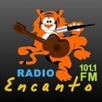 Logo da emissora Radio Encanto 101.1 FM