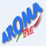 Logo da emissora Aroma FM