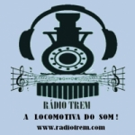 Logo da emissora Rádio Trem