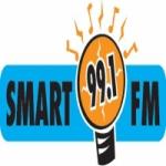 Logo da emissora Radio Smart 99.1 FM