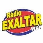 Logo da emissora Rádio Exaltar