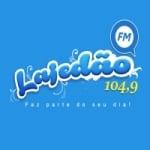 Logo da emissora Rádio Lajedão 104.9 FM