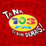 Logo da emissora Rádio 103 FM