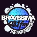 Logo da emissora Radio Bravissima 93.1 FM