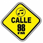 Logo da emissora Radio Calle 98 FM 98.5