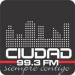 Logo da emissora Radio Ciudad 99.3 FM