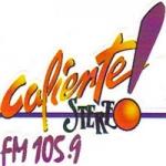 Logo da emissora Radio Caliente Stereo 105.9 FM