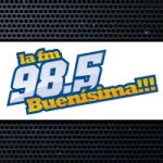 Logo da emissora Radio La FM 98.5