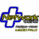Logo da emissora Radio Mas Network 99.1 FM