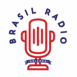 Logo da emissora Brasil Radio 810 AM 93.1 FM Orlando