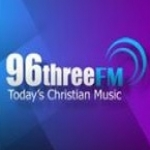 Logo da emissora Radio Rhema FM 96.3