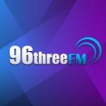 Logo da emissora Radio 96three 96.3 FM