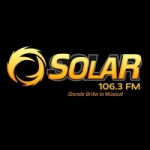 Logo da emissora Radio Solar 106.3 FM