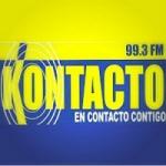 Logo da emissora Radio Kontacto 99.3 FM