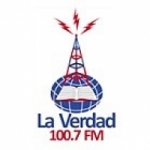 Logo da emissora Radio La Verdad 100.7 FM