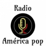 Logo da emissora Rádio América Pop