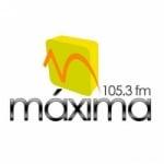 Logo da emissora Radio Máxima 105.3 FM