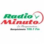 Logo da emissora Radio Minuto 106.1 FM