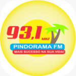Logo da emissora Rádio Pindorama 93.1 FM