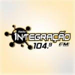 Logo da emissora Rádio Integração 104.9 FM