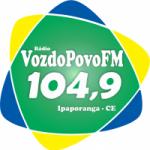 Logo da emissora Rádio Voz do Povo 104.9 FM