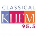 Logo da emissora Radio KHFM 95.5 FM