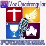 Logo da emissora Rádio Voz Quadrangular Potirendaba