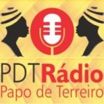 Logo da emissora Rádio Papo de Terreiro