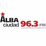 Logo da emissora Radio Alba Ciudad 96.3 FM