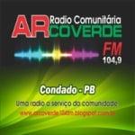 Logo da emissora Rádio Arco Verde 104.9 FM