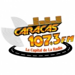 Logo da emissora Radio Caracas 107.3 FM