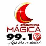 Logo da emissora Radio La Nueva Mágica 99.1 FM