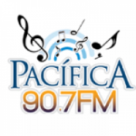 Logo da emissora Radio Pacífica 90.7 FM