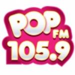 Logo da emissora Radio Pop 105.9 FM