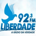 Logo da emissora Rádio Liberdade 92.3 FM