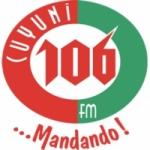 Logo da emissora Radio Cuyuni 106.5 FM