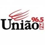 Logo da emissora Rádio União 96.5 FM