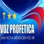 Logo da emissora Rádio Voz Profética
