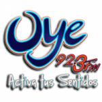 Logo da emissora Radio Oye 92.3 FM