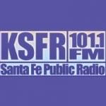 Logo da emissora KSFR 90.7 FM