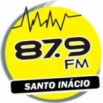 Logo da emissora Rádio Santo Inácio 87.9 FM