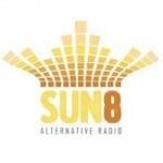 Logo da emissora SUN 8 Rádio