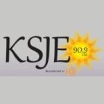 Logo da emissora KSJE 90.9 FM